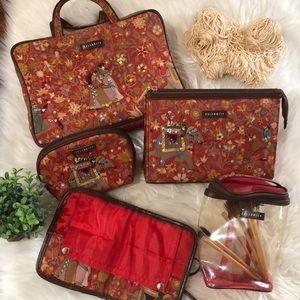 🌟UNIQUE TRAVEL BAG Set! Very Different -5 pieces